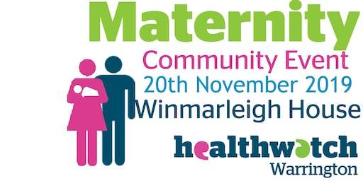 Maternity Community Event