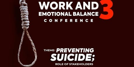 Work and Emotional Balance Conference 3 tickets