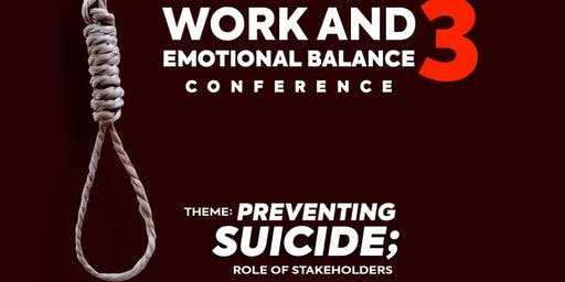Work and Emotional Balance Conference 3