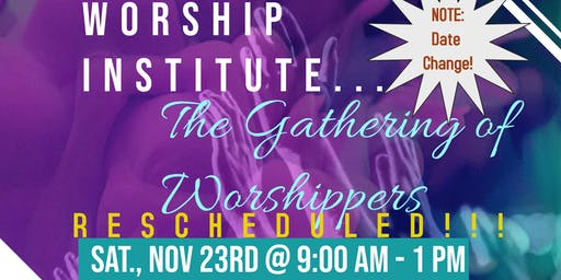 THE GATHERING OF WORSHIPPERS