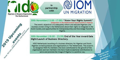Know  Your Right Summit & End of the Year Award Gala Night