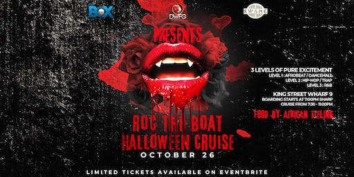 Roc The Boat: 2nd Annual Halloween Costume Boat Party