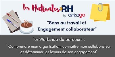 Matinale RH : Comprendre mon collaborateur et les leviers de son engagement