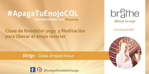 CLASE  KUNDALINI YOGA y Meditación para liberar el enojo interior
