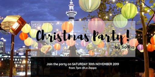 Christmas party at La Zeppa, Sat 30 Nov