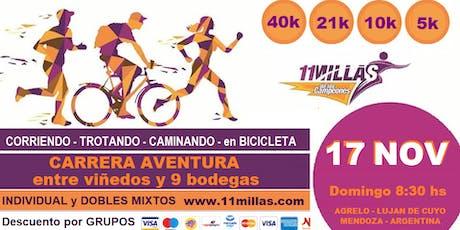 """11 MILLAS de los Campeones """"por los Caminos del Vino"""" (13ª edición) entradas"""