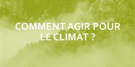 Atelier Climat - Comment Agir ? #4 billets