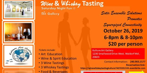 Wine & Whiskey Tasting @ Kulture Art Gallery