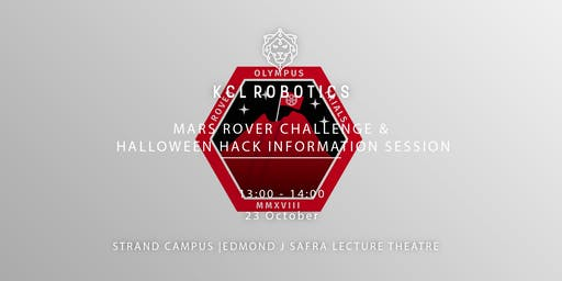 Mars Rover Challenge & Halloween Hack Information Session
