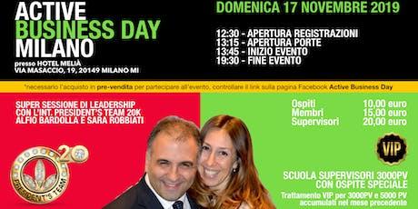 Active Business Day Milano - 17 Novembre 2019 biglietti