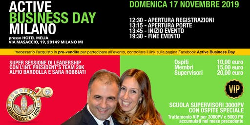 Active Business Day Milano - 17 Novembre 2019