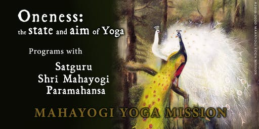 Yoga and Meditation Practice with Satguru Shri Mahayogi Paramahansa: NYC Dec 2019 - Mar 2020