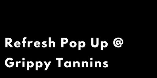 Grippy Tannins X Pure Barre Pop Up