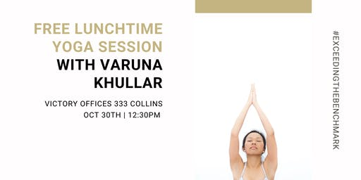 Yoga Session With Special Guest Varuna Khullar, From Silicon Valley, San Fr