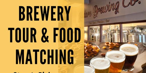 Brewery Tour & Food Matching