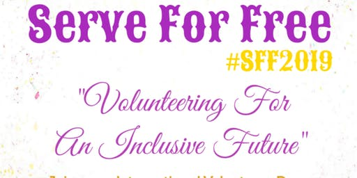 Serve For Free 2019