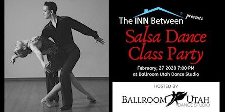 Salsa Dance Class Night - Benefit for The INN Between tickets