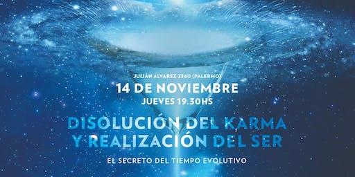 Conferencia Gratuita SKY: Disolución del Karma y Realización del Ser