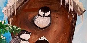 Paint Chickadee Winter Wonder in Langley