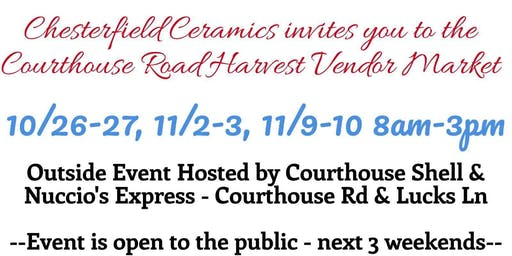 Courthouse Rd Harvest Market Fair (Vendors Needed)