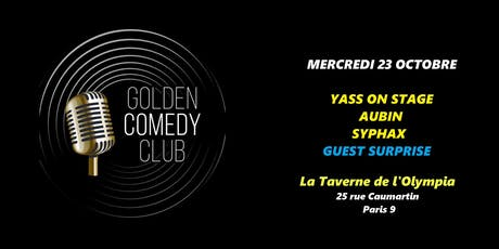 Golden Comedy Club billets
