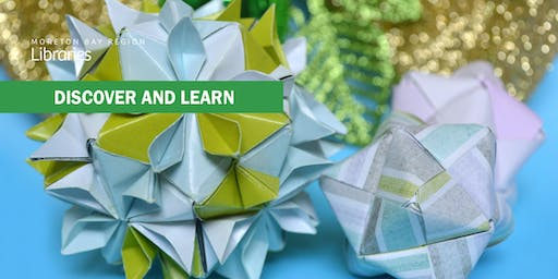Christmas Paper Baubles - Caboolture Library