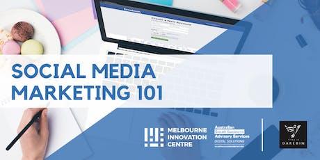 Social Media Marketing 101 - Darebin  tickets