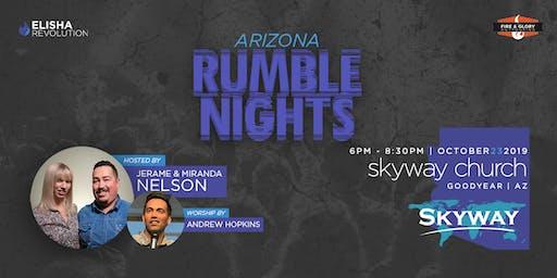 Rumble Nights: Goodyear, Arizona