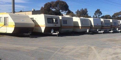 Caravan Hire  at Shepparton's Victoria Lake Holiday Park