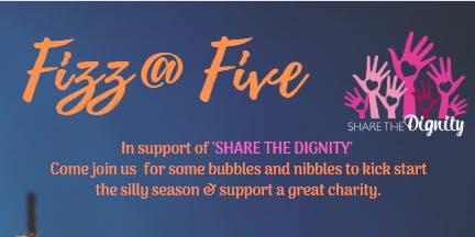 Fizz @ Five for Share the Dignity