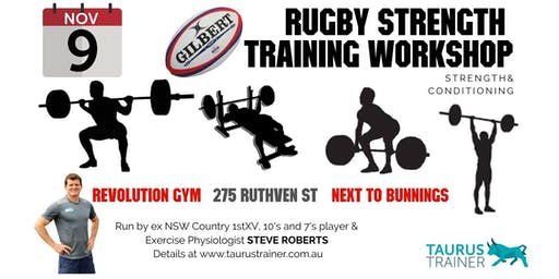 Rugby Strength  Training Workshop