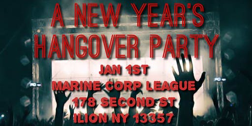 New Years Day Hangover Party