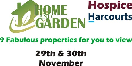 Harcourts Hospice Home and Garden Tour 2019 tickets