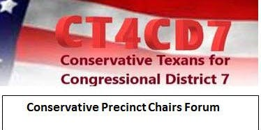 Conservative Precinct Leaders - Accelerate in West Houston  / Katy for 2020