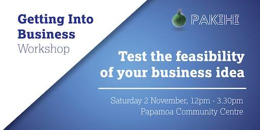 Pakihi Workshop: Getting Into Business - Papamoa