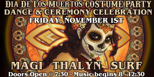 Dia De Los Muertos Costume and Celebration Dance Party