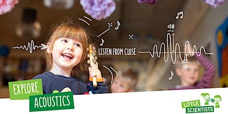 Little Scientists STEM Acoustics Workshop, Erskineville NSW tickets