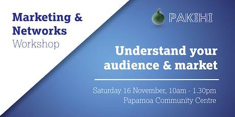 Pakihi Workshop: Marketing & Networks - Papamoa tickets