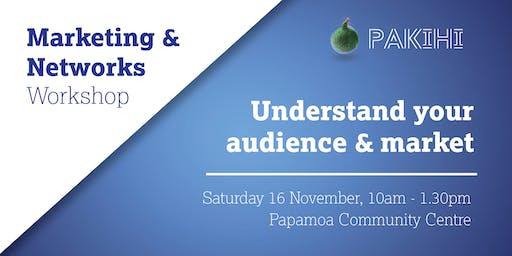 Pakihi Workshop: Marketing & Networks - Papamoa