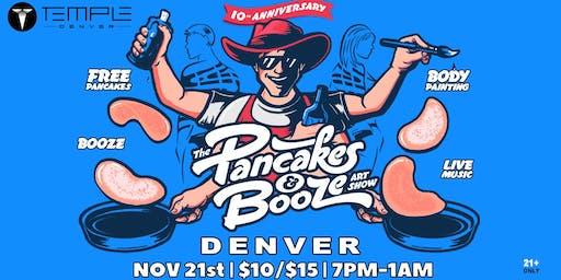 The Denver Pancakes & Booze Art Show (VENDOR RESERVATION ONLY)