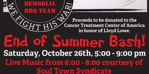 End of Summer Bash! - Hosted by Smokin' Butts Lloyd Lowe Memorial BBQ Team