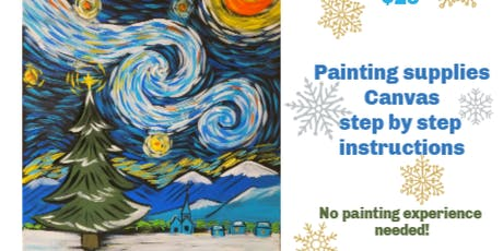 Paint Party Monday December 2nd 7pm at Flynn's in Mansfield tickets