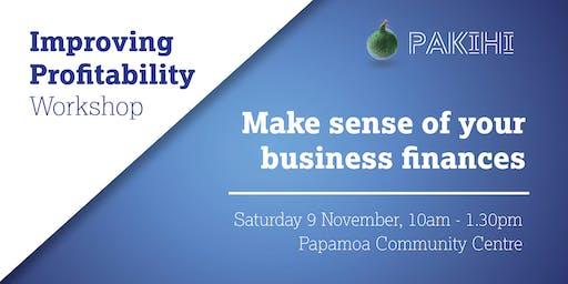 Pakihi Workshop: Improving Profitability - Papamoa