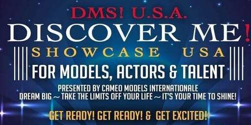 Audition!!! Discover Me! Showcase U.S.A.