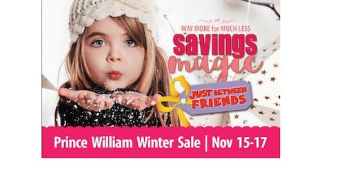 JBF Prince William Winter Sale - Special Events Announcement