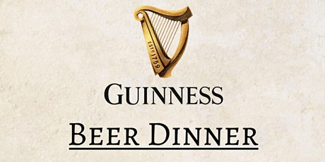 Guinness Pairing Dinner tickets