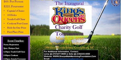 """The Inuagural """"Kings & Queens"""" Charity Golf Tournament tickets"""