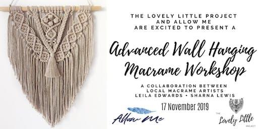 Macrame Workshop - Advanced Wall Hanging