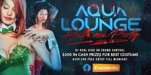 Aqua Lounge Halloween Party