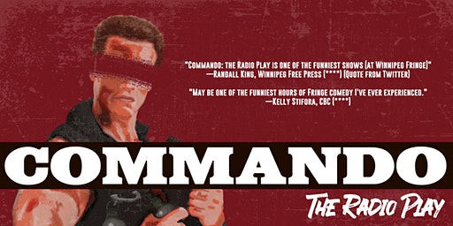 Commando: The Radio Play at the Gas Station Arts Centre
